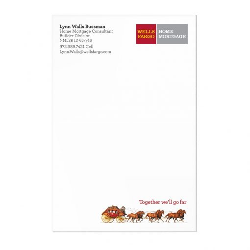 "25 Sheet Scratch Pad (4""x6"")"