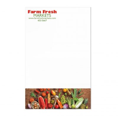 "25 Sheet Scratch Pad (5 3/8""x8 3/8"")"