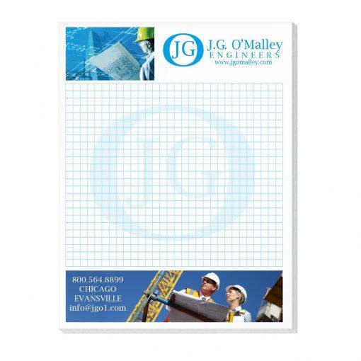 "50 Sheet Scratch Pad (4""x5 1/4"")"