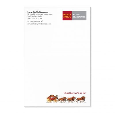 "50 Sheet Scratch Pad (4""x6"")"