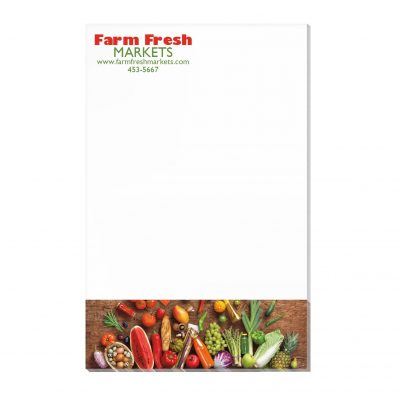"50 Sheet Scratch Pad (5 3/8""x8 3/8"")"