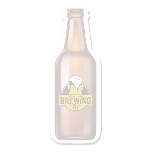 """Beer Bottle Stock Shape 25 Sheet Adhesive Die Cut Pad (4 1/4""""x5 1/4"""")"""