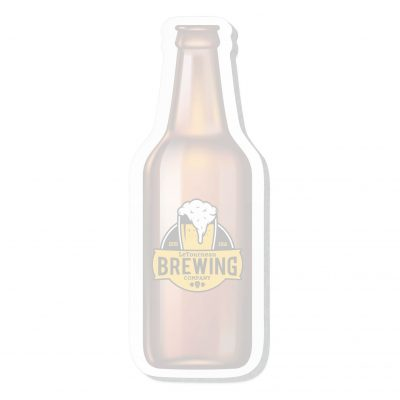 "Beer Bottle Stock Shape 50 Sheet Adhesive Die Cut Pad (4 1/4""x5 1/4"")"