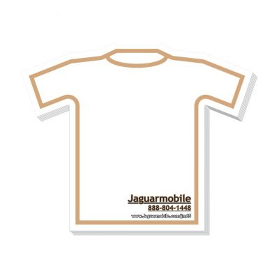 "T-Shirt Stock Shape 25 Sheet Adhesive Die Cut Pad (4""x4"")"