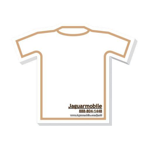 "T-Shirt Stock Shape 25 Sheet Adhesive Die Cut Pad (4""x4"")"